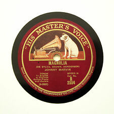 "JOHNNY MARVIN ""Magnolia / Just Another Day Wasted Away"" (E+) HMV B-2554 [78 RPM]"