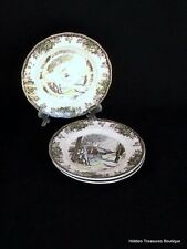 Johnson Brothers The Friendly Village 3 Bread & Butter Plates England 1883