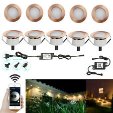 10X Coppering 47mm Waterproof LED Deck Rail Step Soffit Lights + WIFI Controller