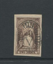 VICTORIA  1852 2D QUEEN ON THRONE SG18B  LETTERS  M R VERY FINE USED