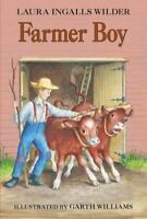 FARMER BOY by Laura Ingalls Wilder FREE SHIPPING a Little House paperback book