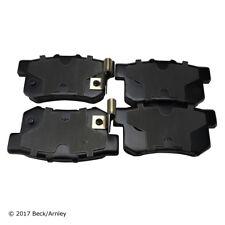 Disc Brake Pad Set Rear Beck/Arnley 089-1498
