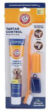 Arm & Hammer Dog Dental Care Tartar Control Toothbrush Toothpaste Banana Flavor