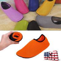 Aqua Skin Shoes Breathable Beach Water Socks Yoga Exercise Pool Swim On Surf US