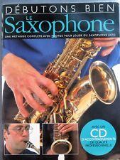 Débutons bien le saxophone, avec CD d'accompagnement, 2001