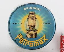 Petromax Sign paper print NEW reproduction of old vintage kerosene lamp light