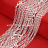 "Wholesale 5Pcs 2mm Circle Rolo Chain 925 Sterling Solid Silver Necklace 18""-30"""