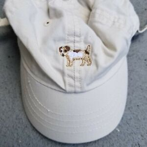 The Childrens Place baby baseball cap Sz 6-12 month infant tan beach sun hat EUC