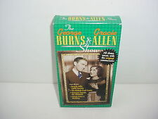 The George Burns and Gracie Alan Show VHS Video Tape Movie TV