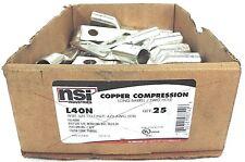 NEW NSI L40N COPPER COMPRESSION LONG BARREL, TWO HOLE, PURPLE - QTY 26