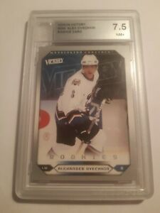 2005-06 #264 Ovechkin rookie card Victory graded ACA 7.5 comp bgs psa
