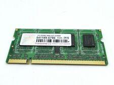 Transcend 541189-6790 598861-001 SO-DIMM 1GB DDR2 800 Random Access Memory RAM