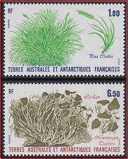 TAAF N°125/126** Fleurs, flore antarctique, 1987 FSAT Flower Antarctic flora MN