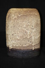 "Rare Shape XXL Carstens West German Modernist Two Tone Mottled Vase 13"""