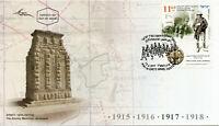 Israel 2017 FDC WWI WW1 Eretz General Allenby Entering Jerusalem 1v Cover Stamps