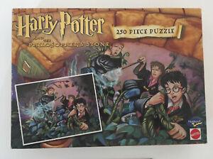 Mattel Harry Potter & The Philosopher's Stone 250 Piece Jigsaw Puzzle Retro