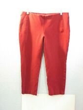 Chico's Yoga Sport Shorts Compression Leggings Pants Deep Red Capri~Sz 2.5