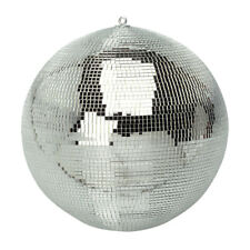 """Soundlab G007C 16"""" Mirror silver glitter disco Ball DJ 40cm 400mm wedding party"""