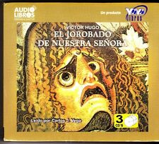 EL JOROBADO DE NUESTRA SENORA (Spanish Edition) 3 Audio CDs - NEW / SEALED