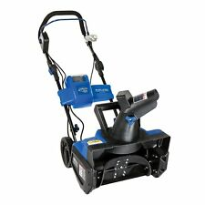 Snow Joe ION18SB 18 in. 40-Volt Cordless Snow Blower w/Battery & Charger - Blue