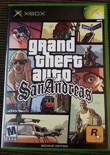 "Grand Theft Auto: San Andreas ""M"" Version Microsoft Xbox Complete Tested 360"