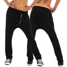 K922 Casual Damen Haremshose Hose Joggpants Pants Sweat-Material Damenhose