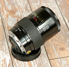 SONY Alpha Digital fit BLACK Minolta AF 100 200mm Beercan Telephoto zoom