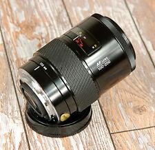 SONY Alpha Digital fit BLACK Minolta AF 100 200mm Beercan Telephoto zoom
