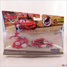 Disney Pixar Cars Road Trip series Cruisin Lightning McQueen and Trailer Rd Tr1p