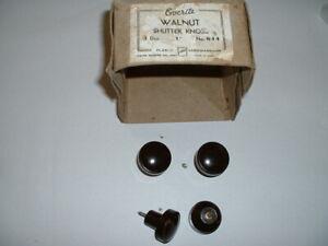"""vintage everite bakelite knobs 1 1/4"""" diameter x 1 1/4"""" high screw in type"""