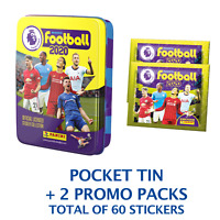 2020 PANINI PREMIER LEAGUE POCKET TIN 12 PACK TOTAL OF 60 STICKERS FREE SHIP USA