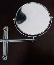 """Bathroom Mirror Round 9"""" 1x-10x Wall Mounted Adjustable Shave Make up"""