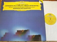 2532 045 Saint-Saens Symphony No. 3 'Organ' / Cochereau / Karajan