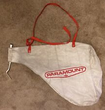 Paramount Leaf or Dust Collector Bag with Strap and Zipper for Easy Emptying