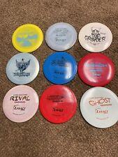 9-used Legacy Disc Golf Discs