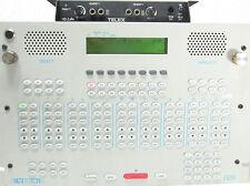 VEGA TELEX C-6200 Analog Hybrid IP VOIP Radio Dispatch Control Console HB3 Plus