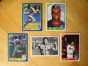 Score Baseball Cards - Bo Jackson, Nolan Ryan, Deion Sanders, Frank Thomas, Sosa