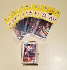 Lot of  2 complete bowling sets - PBA 1972 10 sealed packs = 40 & 1990 cards 100