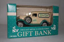 ERTL DIE CAST METAL COLLECTIBLE GIFT BANK, 1932 FORD DELIVERY VAN