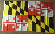Maryland state, State flag 3 X 5 ft. polyester 2 Grommet holes