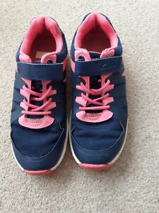 Clarks Girls Trainers (Blue+Pink)  size 12G