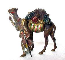 Vienna Style Bronze Arabic Camel Merchant Figure Statue