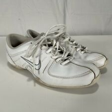 Nike Air Mix Down 2 Women's Sz 8.5 Cheerleading Shoes White Leather 519933-100