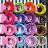 100pcs^ Elastic Rope Women Fashion Hair Ties Ponytail Holder Head Band Hairbands