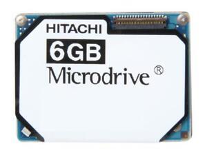 Hitachi HMS361006M5CE00 PN 0A40702 6GB Microdrive