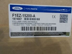 New Ford OEM Right Side Fog Light F1EZ-15200-A.