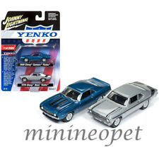 JOHNNY LIGHTNING JLPK002 1969 CHEVY CAMARO & 1970 NOVA YENKO SET 1/64