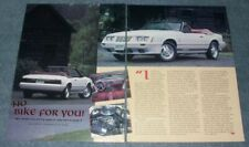 1984 FORD MUSTANG 20TH ANNIVERSARY BIRTHDAY PARTY CELEBRATION EVENT FLYER RARE