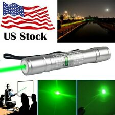 Tacticl 200Miles Green Laser Pointer Pen Ultra Strong Funny Lazer Astronomy Us