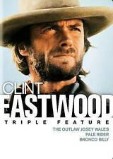 The Outlaw Josey Wales / Pale Rider / Bronco Billy - Clint Eastwood 3 Film Set